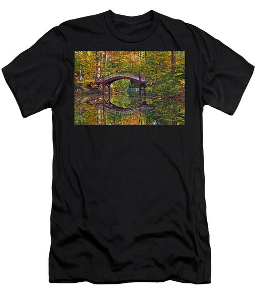 Fall Reflections At Crim Dell Men's T-Shirt (Athletic Fit)