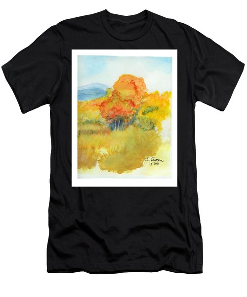 Fall Trees 2 Men's T-Shirt (Athletic Fit)