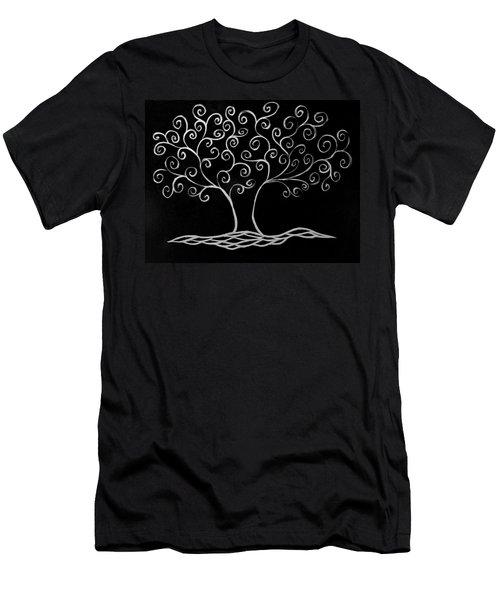 Family Tree Men's T-Shirt (Slim Fit) by Jamie Lynn