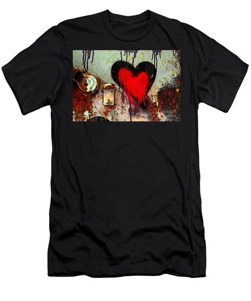 Fanatic Heart Men's T-Shirt (Athletic Fit)