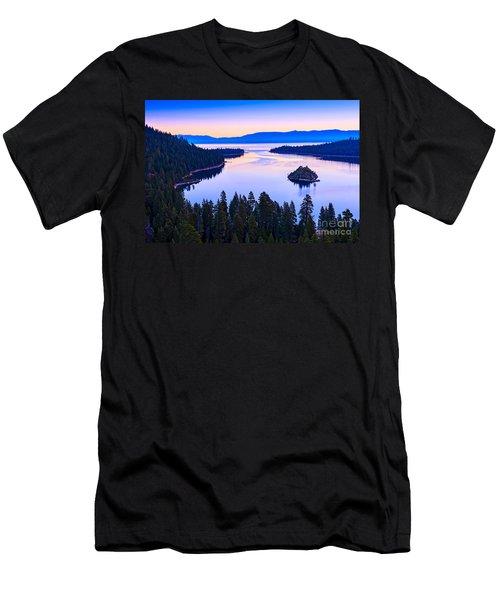 Fannette Island Sunrise Men's T-Shirt (Athletic Fit)