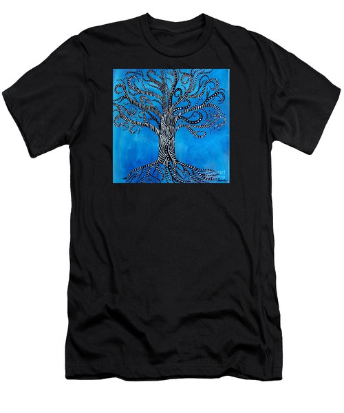 Fantastical Tree Of Life Men's T-Shirt (Athletic Fit)