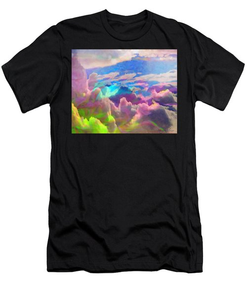 Abstract Fantasy Sky Men's T-Shirt (Athletic Fit)