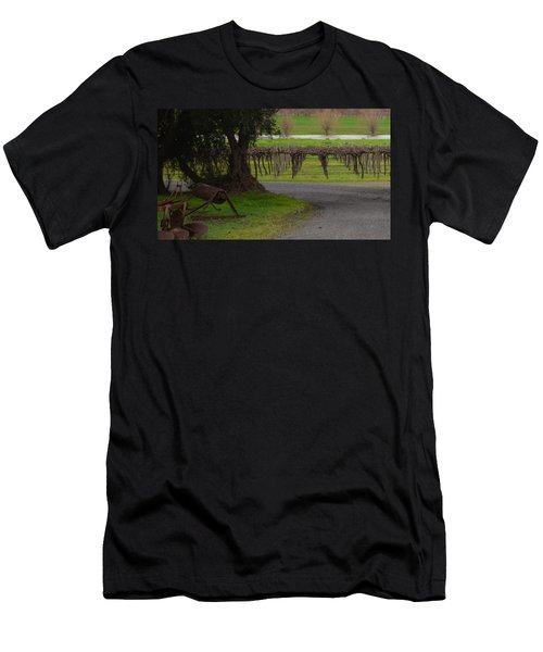 Farm And Vineyard Men's T-Shirt (Athletic Fit)