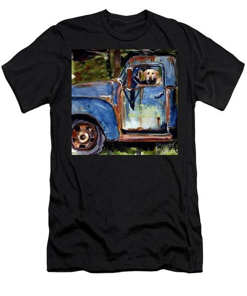 Farmhand Men's T-Shirt (Slim Fit) by Molly Poole