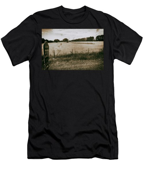 Men's T-Shirt (Athletic Fit) featuring the photograph Farming by Howard Salmon