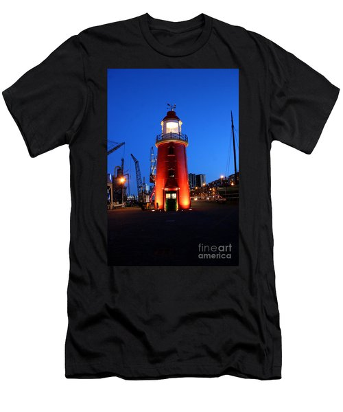 Faro Museo De Rotterdam Holland Men's T-Shirt (Athletic Fit)
