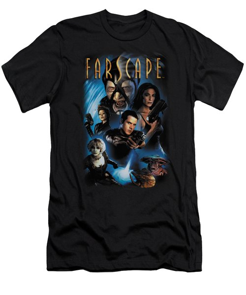 Farscape - Comic Cover Men's T-Shirt (Athletic Fit)