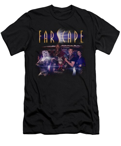 Farscape - Flarescape Men's T-Shirt (Athletic Fit)