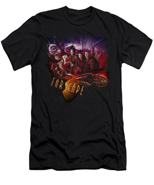 Farscape - Graphic Collage Men's T-Shirt (Athletic Fit)