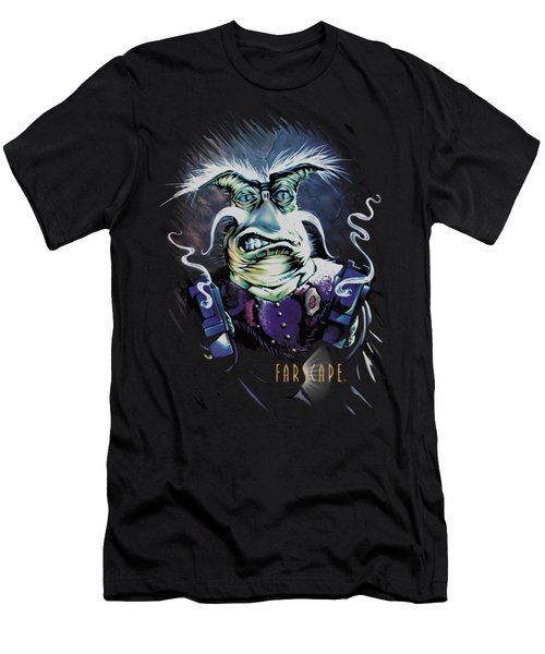 Farscape - Rygel Smoking Guns Men's T-Shirt (Athletic Fit)