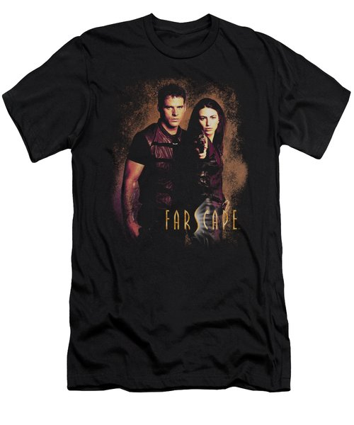 Farscape - Wanted Men's T-Shirt (Athletic Fit)