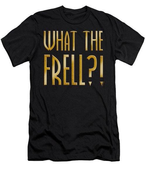 Farscape - What The Frell Men's T-Shirt (Athletic Fit)
