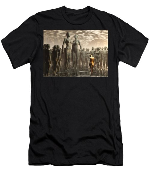 Fate Of The Dreamer Men's T-Shirt (Athletic Fit)