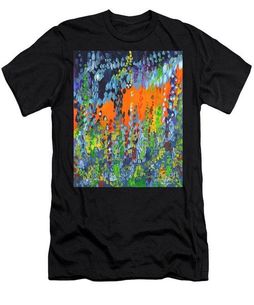 Faux Geo Men's T-Shirt (Athletic Fit)