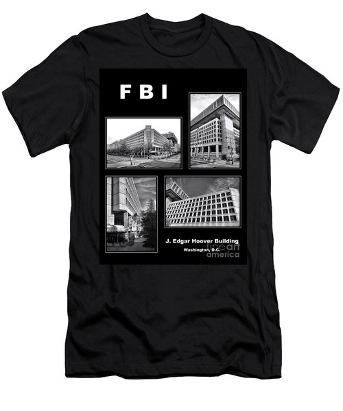 Fbi Poster Men's T-Shirt (Athletic Fit)