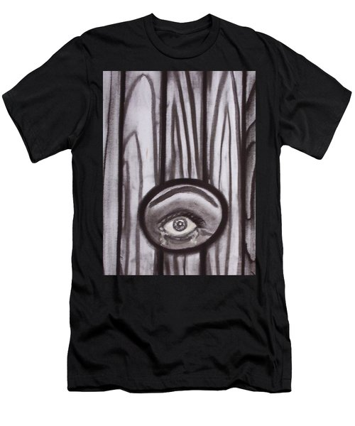 Fear - Eye Through Fence Men's T-Shirt (Athletic Fit)