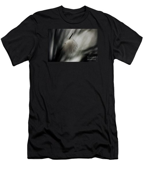 Men's T-Shirt (Slim Fit) featuring the photograph Feather by Cassandra Buckley