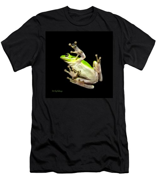 Feathered Frog Men's T-Shirt (Athletic Fit)