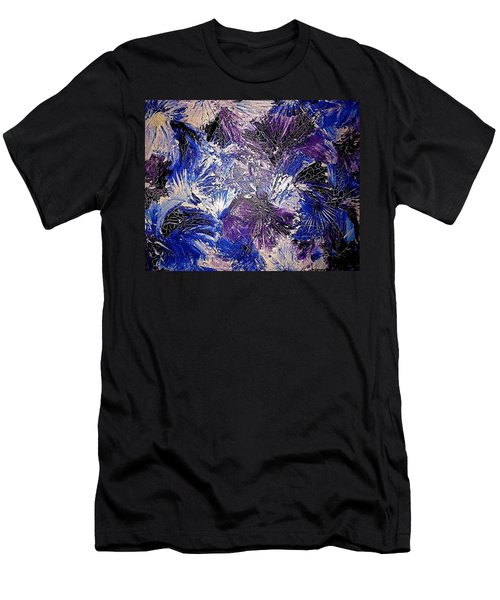 Feathers In The Wind Men's T-Shirt (Athletic Fit)