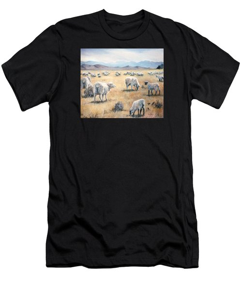 Feed My Sheep Men's T-Shirt (Athletic Fit)