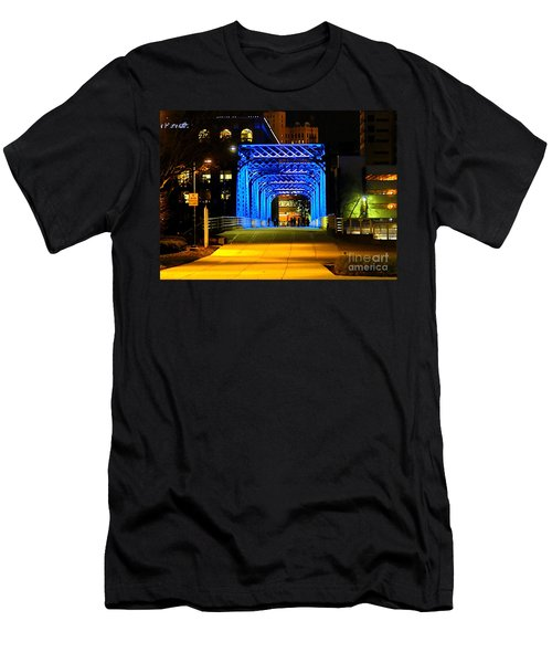 Men's T-Shirt (Slim Fit) featuring the photograph Feeling Blue by Robert Pearson