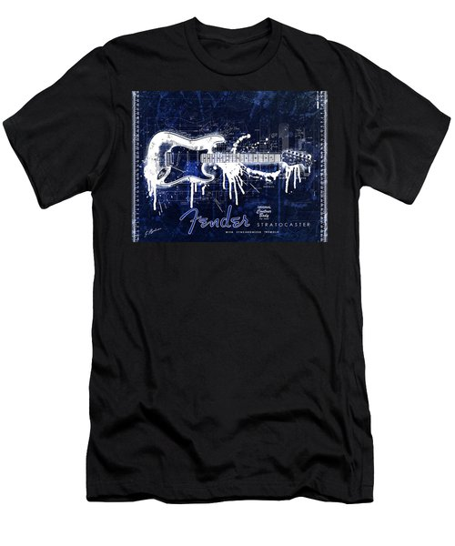 Fender Blueprint Washout Men's T-Shirt (Athletic Fit)
