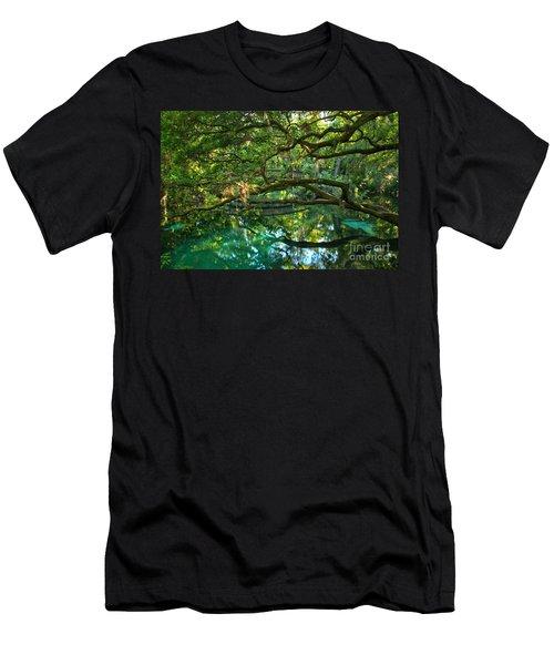 Fern Hammock Men's T-Shirt (Athletic Fit)