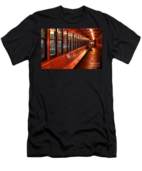 Ferry Boat Riders Men's T-Shirt (Athletic Fit)