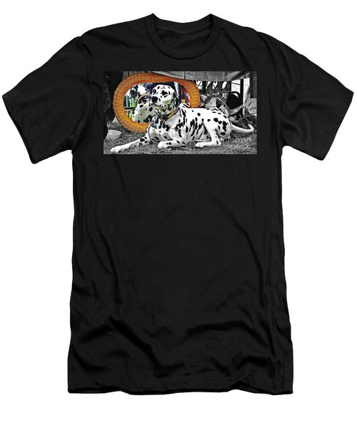 Festival Dog Men's T-Shirt (Athletic Fit)