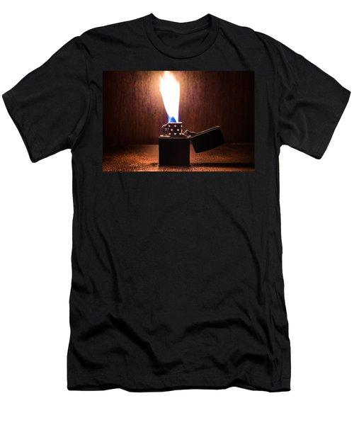 Feuer Men's T-Shirt (Slim Fit) by Tgchan