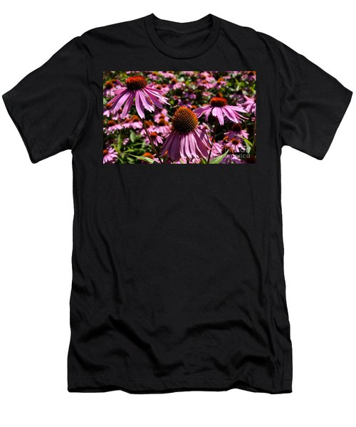 Field Of Echinaceas Men's T-Shirt (Athletic Fit)