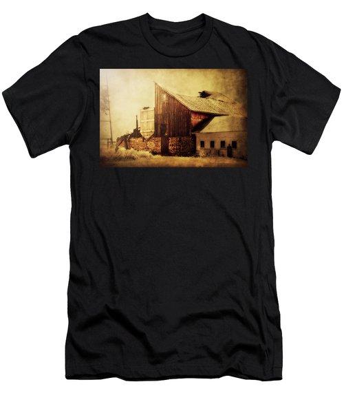 Field Stone Barn 2 Men's T-Shirt (Athletic Fit)
