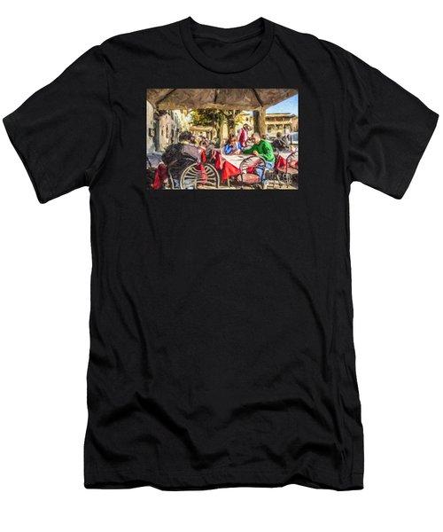 Fiesole Al Fresco Men's T-Shirt (Athletic Fit)
