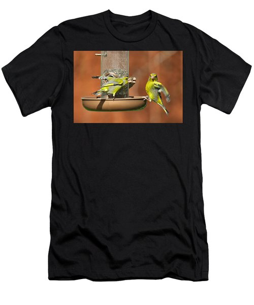 Fight For Food Men's T-Shirt (Athletic Fit)