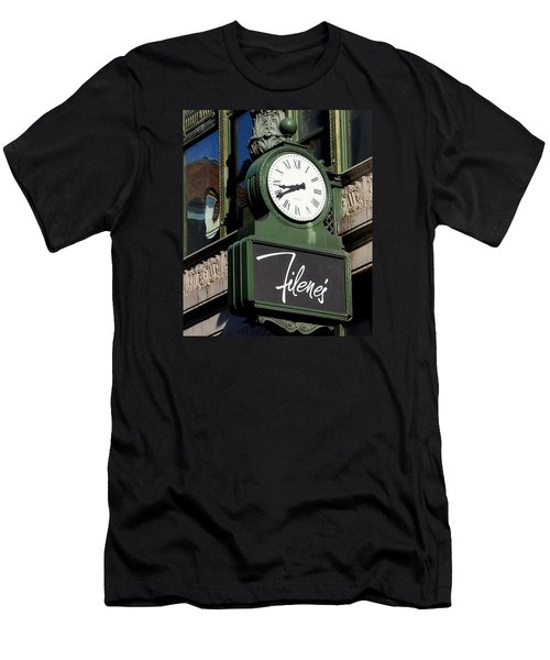 Filene's Basement Clock Men's T-Shirt (Athletic Fit)