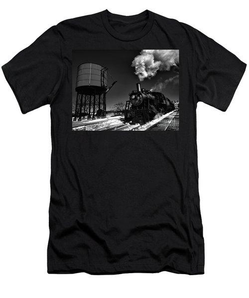 Filler Up Men's T-Shirt (Slim Fit) by Robert McCubbin