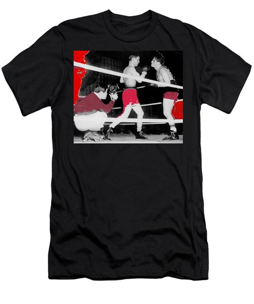 Film Noir Cinematographer James Wong Howe John Garfield Body And Soul 1947 Color Added 2013 Men's T-Shirt (Athletic Fit)