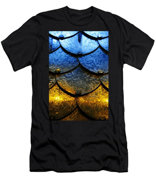 Fire And Ice Men's T-Shirt (Slim Fit) by Skip Hunt
