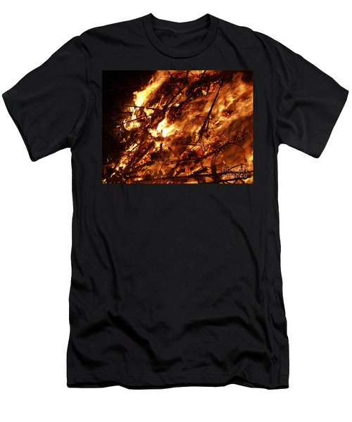Fire Blaze Men's T-Shirt (Athletic Fit)
