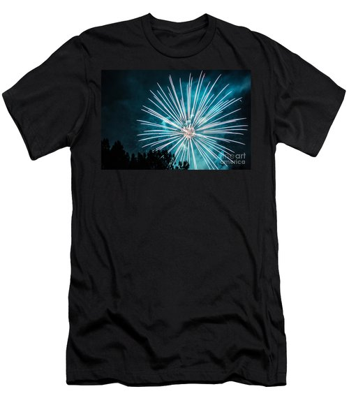 Fire Flower Men's T-Shirt (Athletic Fit)
