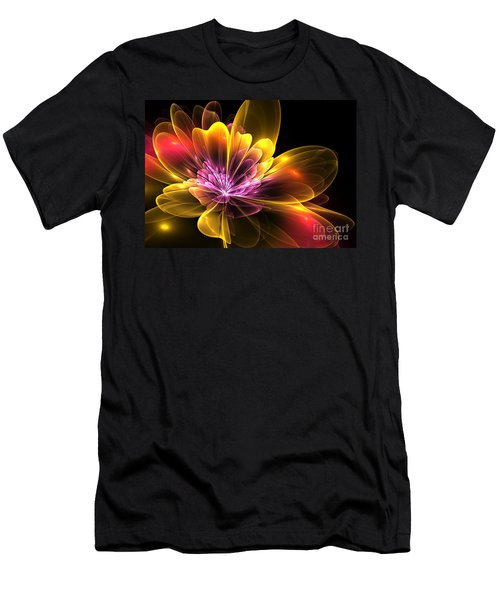 Fire Flower Men's T-Shirt (Athletic Fit)