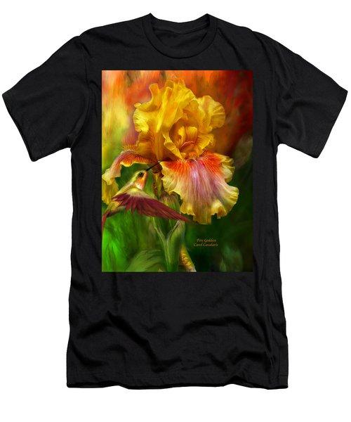 Fire Goddess Men's T-Shirt (Athletic Fit)