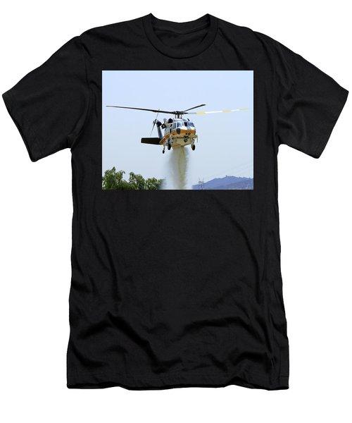 Fire Hawk Water Drop Men's T-Shirt (Athletic Fit)