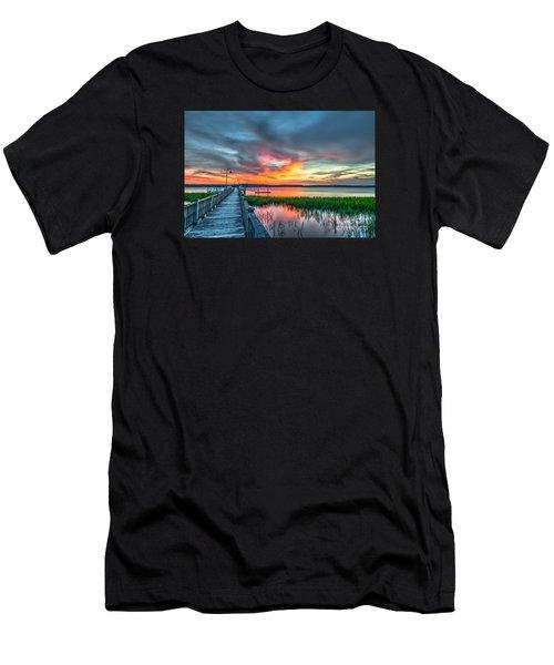 Fire Light Men's T-Shirt (Athletic Fit)