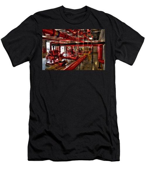 Fire Pumps Men's T-Shirt (Athletic Fit)