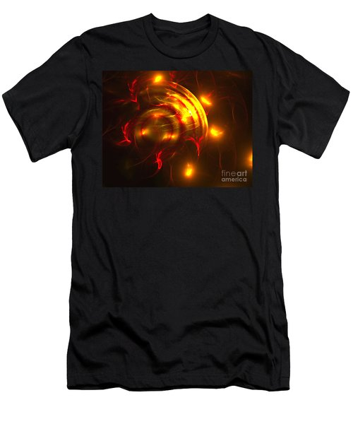 Fire Storm Men's T-Shirt (Slim Fit)