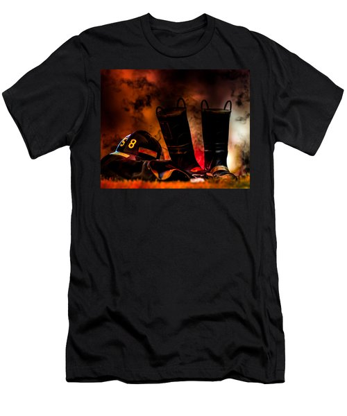 Firefighter Men's T-Shirt (Athletic Fit)