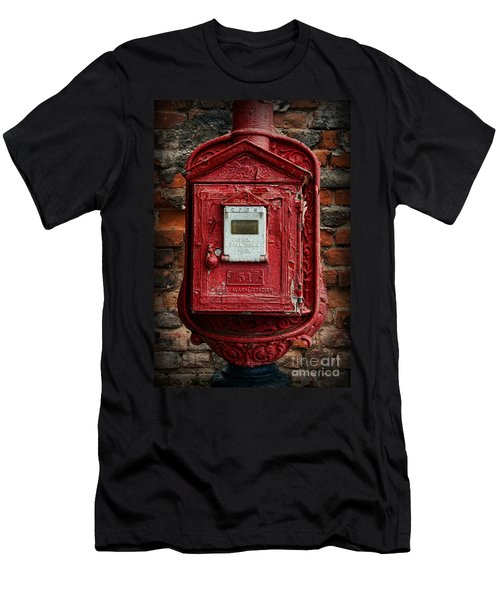 Fireman - The Fire Alarm Box Men's T-Shirt (Athletic Fit)