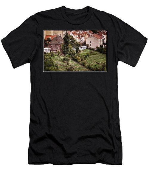 Firenze In Prague Men's T-Shirt (Athletic Fit)